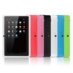 "7"" Google Android Tablet with WiFi TouchScreen Camera Netflix Skype Chromo - New #Chromo"