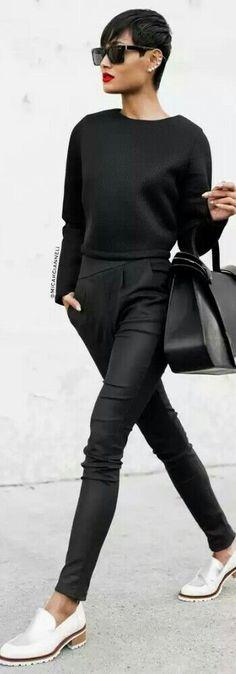 All Black / Fashion by Micah Gianneli