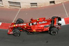 ☼ #F1 2007 Monaco Formula 1 Grand Prix - Kimi Raikkonen (Ferrari F2007)