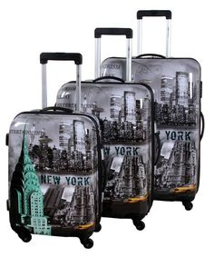 Leonardo Trolleyset ABS New York City (3 dlg)