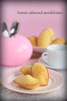 The Little Teochew: Lemon Almond Madeleines