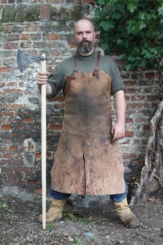 Owen Bush, Blacksmith, with Dane Axe. This is the weapon my group is already planning on training on as my primary. ------------------------------------------------------- -Tagged by Dustin Clark