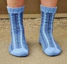 Ravelry: Tuomo pattern by Sari Suvanto Knitting Socks, Knit Socks, Mittens, Ravelry, Free Pattern, Slippers, Sari, Legs, Design