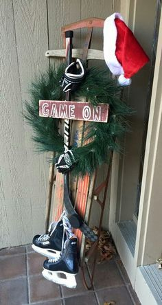 Image result for ice hockey christmas decorations