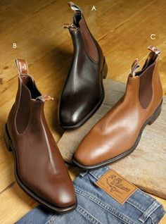 R.M. Williams Boots Repinned by www.silver-and-grey.com