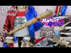 Harley Quinn (Suicide Squad) Costume Tutorial | Halloween 2015 - YouTube