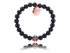 #ByDziubeka #bracelet #bransoletka #black #jewelry