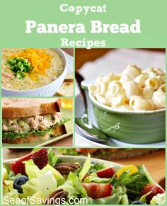 Panera Bread Recipes - some of the best recipes from Panera Bread all in one place!