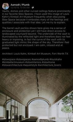 Louis Kahn, Interior Trim, Vaulting, Contemporary Interior, Plumbing, Art Museum, Let It Be, Image, Contemporary Interior Design