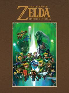 A book about Zelda Hirstory?! So getting this :D