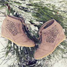 Pine & Ice Booties....