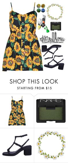 """""""like a grand piano."""" by evenifwecantfindheaven ❤ liked on Polyvore featuring NARS Cosmetics and Carole"""