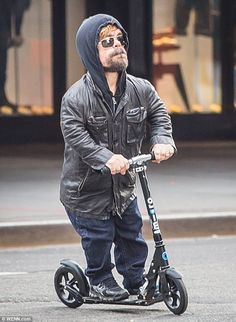 Better scoot! Peter Dinklage, 46, was pictured whizzing along the Meatpacking District on Monday on his scooter, as he chose a quicker alternative AU: http://www.microscooters.com.au/scooters/adult-scooters/sa0034-black NZ: http://www.microscooters.co.nz/scooters/adult-scooters/sa0034-black