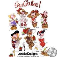 Sew Creative! Embroidery Design Collection   CD