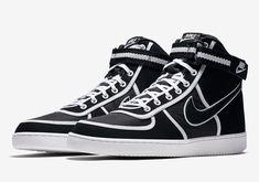 new product 0e5ba 2273b Nike Vandal High Black + White AH8518-004 Release Info