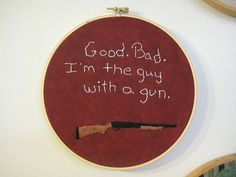 """Also need one that says """"This is my BOOMSTICK!"""""""