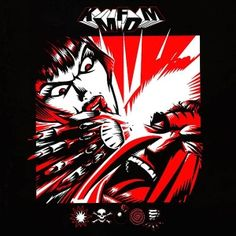 KMFDM - Symbols. 1997. Feat. Nivek Ogre of Skinny Puppy and Tim Skold, who went on to play for Marilyn Manson.