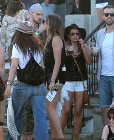 Lea and Matthew at Coachella 2015 #LeaMichele #MatthewPaetz #paetzchele #Lea #Matthew