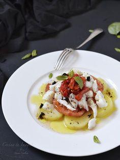 Fish Recipes, Gourmet Recipes, Appetizer Recipes, Salad Recipes, Autumn Winter Recipes, Winter Food, Table D Hote, Healthy Recepies, Tasty
