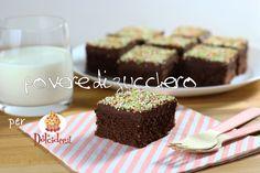 tutorial bocconi di torta al cioccolato