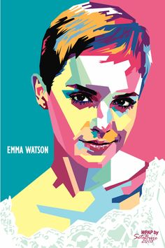 Seto Buje is an Illustrator and Graphic Designer from Indonesia. He creates WPAP (Wedha's Pop Art Portrait) which is a style of ill. Art And Illustration, Illustrations Posters, Abstract Portrait, Portrait Art, Portrait Illustrator, Wal Art, Art Watercolor, Pop Art Portraits, Cubist Portraits