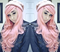 Pink pastel hair >> http://amykinz97.tumblr.com/ >> www.troubleddthoughts.tumblr.com/ >> https://instagram.com/amykinz97/ >> http://super-duper-cutie.tumblr.com/