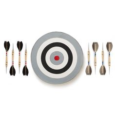 The Monochrome Belgian Dart Set - $128. - From the Best Made Company