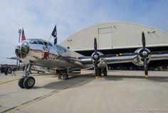 Doc emerging from the hangar. (photo by Brett Schauf VLG LLC)