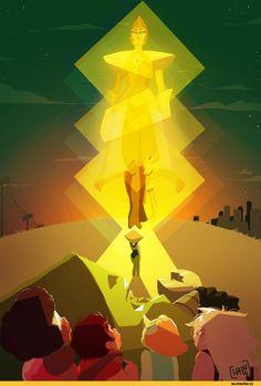 Steven universe,фэндомы,SU art,SU Персонажи,Yellow Diamond,Peridot,Garnet (SU),Steven (SU),Pearl (SU),Amethyst (SU)