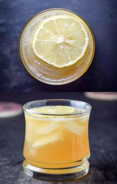 The classic sour - today with bourbon - and one of Mom's fave cocktails. http://ddel.co/bboursour