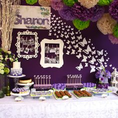 butterfly themed party | Flickr - Photo Sharing!