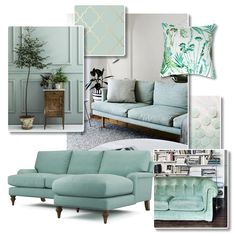 Interior Inspiration - Fresh Mint | Mouthwatering mint is soft and subtle with a hint of freshness. Choose furniture in shades of mint, aqua and seafoam for a lounge that's elegant and uplifting... #theloungeco #chair #sofa #colourtrend #mint #freshmint #aqua #seafoam #duckegg #lounge #Spring #interiorinspiration #interiorinspo #mintsofa #greensofa Traditional Sofa, Green Sofa, Comfortable Sofa, Fresh Mint, Sea Foam, Leather Sofa, Color Trends, Interior Inspiration, Sofas