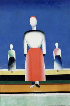 Anna Leporskaja, Three Women, 1932-1934, Tretjakov Museum, Moskou