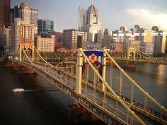 30 Amazing Photos of the Warhol Bridge Yarn Bombing