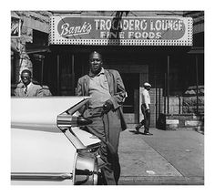 Portrait of blues singer and pianist Memphis Slim, Chicago, Illinois, United States, photograph by William Claxton. William Claxton, Memphis Slim, Make Mine Music, Vocal Coach, Delta Blues, Blues Rock, St Blues, Blues Artists, Blues Music
