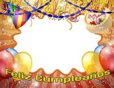 Marco para fotos de cumpleaños gratis - Frames