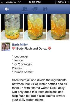Detox Drink, or refreshing summer drink! Smoothie Drinks, Detox Drinks, Healthy Smoothies, Healthy Drinks, Get Healthy, Healthy Tips, Healthy Choices, Healthy Water, Healthy Detox