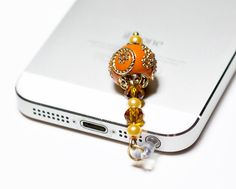 4c467d1613b319 Phone Charm Beaded Dust Plug Dangle Charm for Tablets Handmade Unique Charm  for Cell Accessories Gift Ideas iPhone Dust Plug Novelty Design