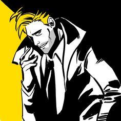 "Glynnis K. on Twitter: ""John Constantine ink warm-up. Matt Ryan is pretty much Constantine to me. Forever.… """