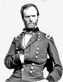 Major General Sherman, 2nd commander of the Army of the TN - Immediately after Chattanooga, Grant ordered Sherman to take command of a mixed force, including part of the XV Corps & proceed to break the siege that other Confederate forces had mounted against Ambrose Burnside's command at Knoxville, TN. Sherman's mere approach resulted in the lifting of the siege, allowing Sherman to return to Chattanooga with the XV Corps troops.