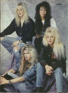 80s Hair Metal, Hair Metal Bands, Freddie Mercury, Transvision Vamp, 80s Rock Bands, Heavy Metal Girl, Lita Ford, Women Of Rock, Estilo Rock
