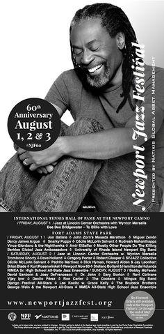 Bobby McFerrin at the 2014 Newport Jazz Festival Newport Jazz Festival, Jazz Club, 60th Anniversary, Asset Management, Dee Dee, Orchestra, Bobby, Festivals, Music