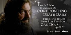 Black Sails - Black Beard's quote
