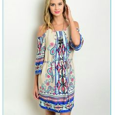 Selling this Cold shoulder summer dress. on Poshmark! My username is: degimac. #shopmycloset #poshmark #fashion #shopping #style #forsale #Dresses & Skirts