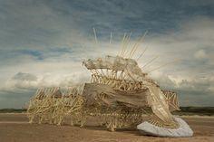 Theo Jansen, kinetic sculpture.
