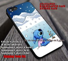 Little Cute Under The Snowdrop, Cute Stich, Disney, case/cover for iPhone 4/4s/5/5c/6/6 /6s/6s  Samsung Galaxy S4/S5/S6/Edge/Edge  NOTE 3/4/5 #cartoon  #animated  #disney #Lilo&Stitch ii