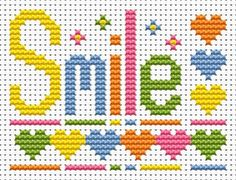 Smile Cross Stitch - Sew Simple