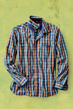 Triple Play Gingham Dobby Shirt | Territory Ahead