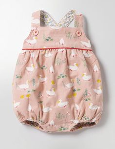Such a cute pink romper for a baby girl Classic Cord Romper #affiliate
