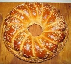 Рождественский калач Braided Bread, Bagel, Doughnut, Baking Recipes, Cooking, Desserts, Food, Breads, Christmas